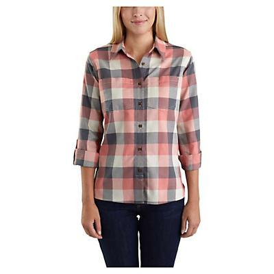 Carhartt Fairview Plaid Shirt - Brick Dust - Women