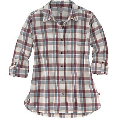 Carhartt Fairview Plaid Shirt - Carhartt Burgundy - Women