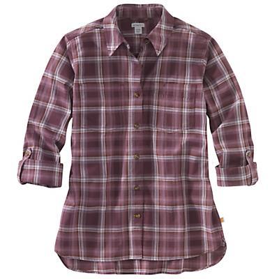 Carhartt Fairview Plaid Shirt - Lavender Shadow - Women