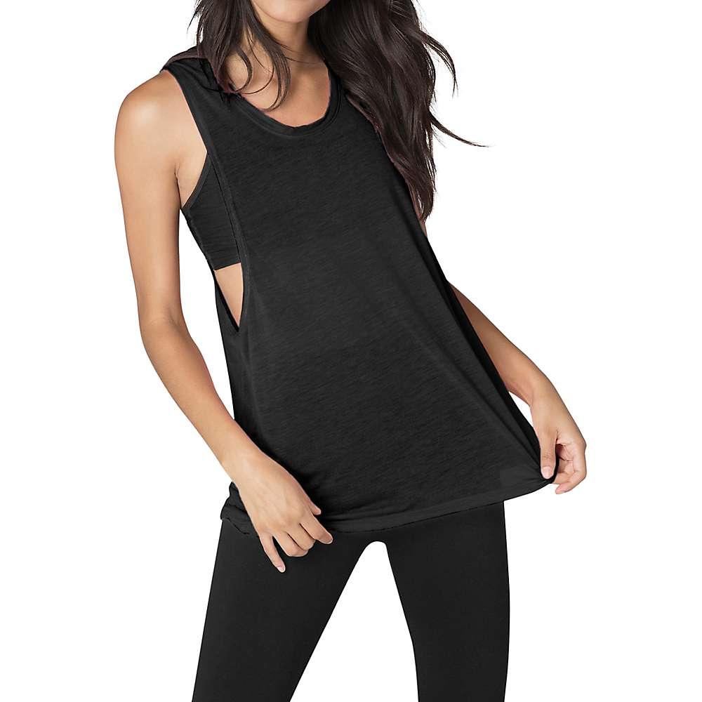 Beyond Yoga Women's Twist It Up Tank Top - Medium - Black