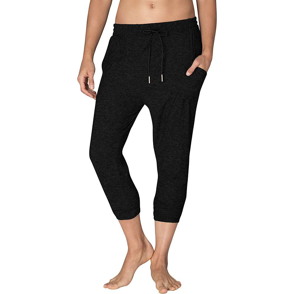 Beyond Yoga Women's Weekend Traveler Midi Sweatpant - Medium - Darkest Night