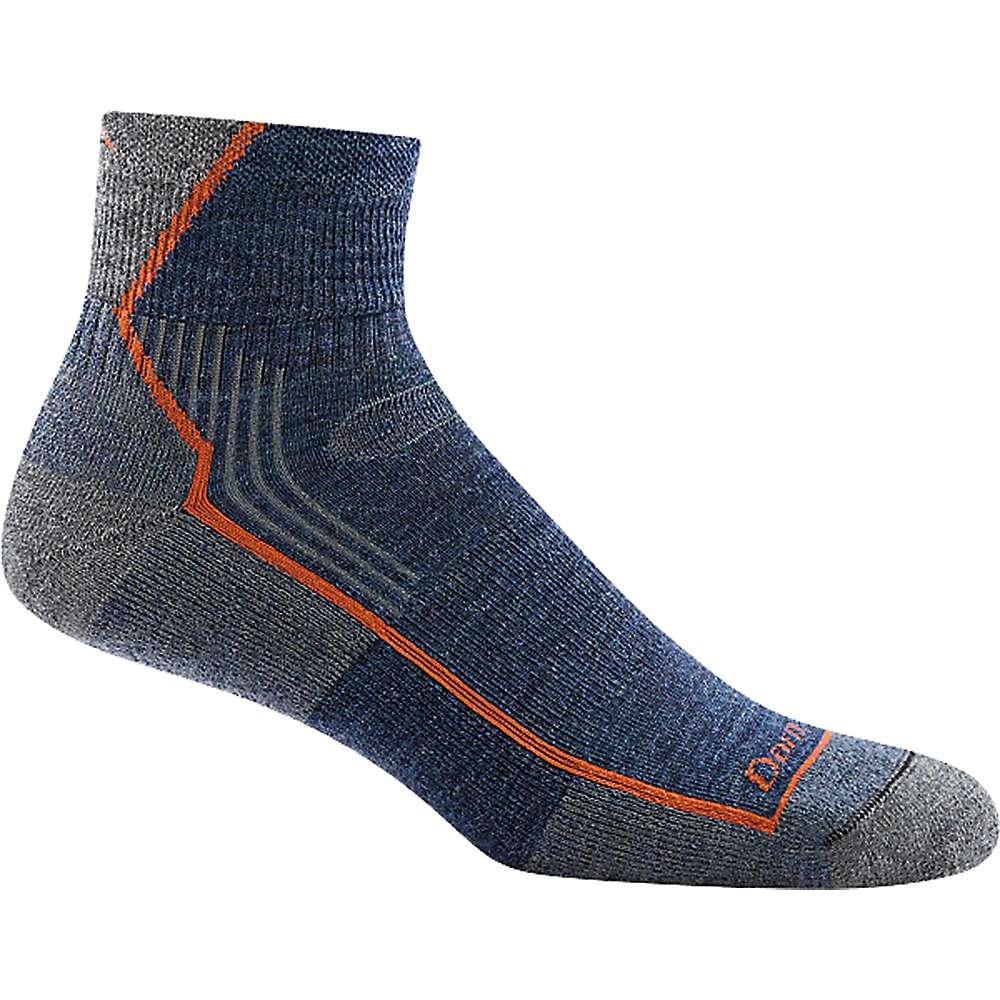 Darn Tough Men's Hiker 1/4 Cushion Sock - XL - Denim