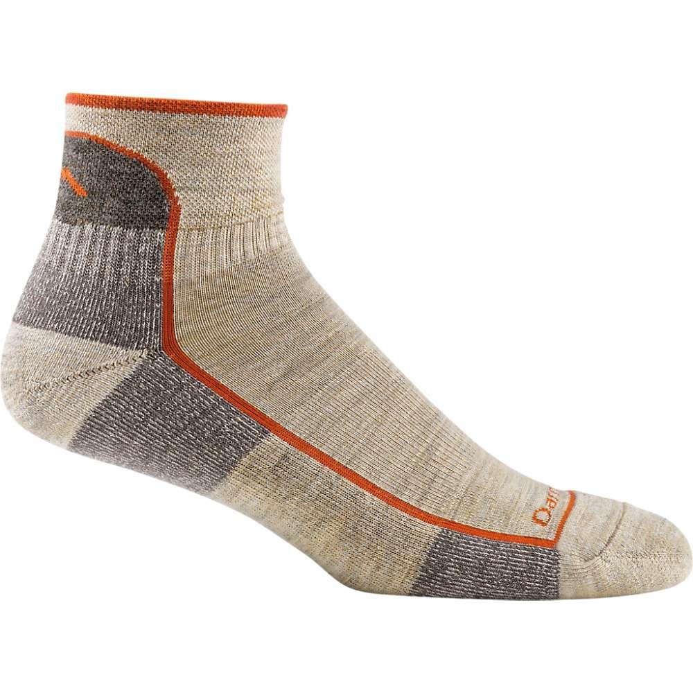 Darn Tough Men's Hiker 1/4 Cushion Sock - Medium - Oatmeal