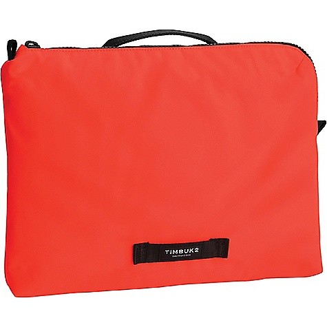 Timbuk2 Highlighter Laptop Sleeve Flare Timbuk2 Highlighter Laptop Sleeve - Flare - in stock now. FEATURES of the Timbuk2 Highlighter Laptop Sleeve Coated polyester fabric looks clean and modern Chunky contemporary zippers Large reflective zipper pulls Matte metal hardware Fully padded interior fits up to 13in. laptop Grab-handle