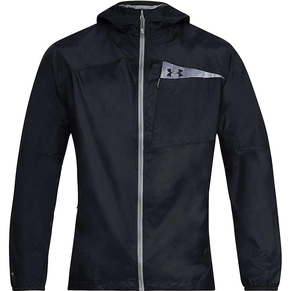 Under Armour Men's Scrambler Hybrid Jacket - Small - Black / Black / Graphite