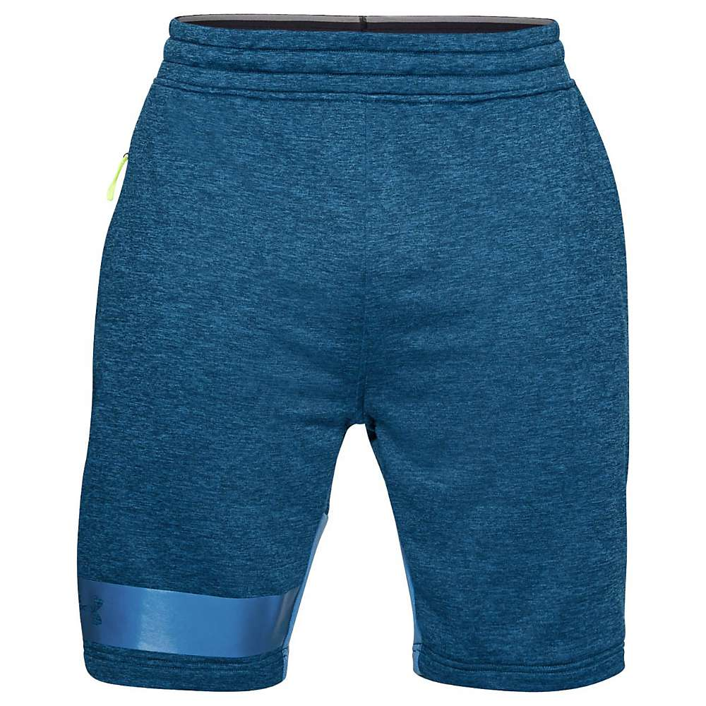 Under Armour Men's Tech Terry Short - Large - Moroccan Blue / Mediterranean