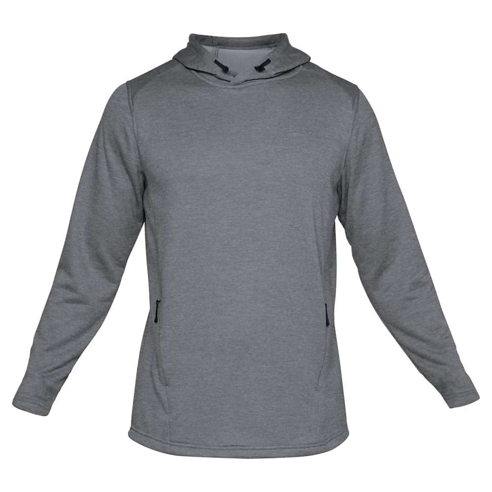 Under Armour Men's Tech Terry Popover Hoodie - Large - Steel / Graphite