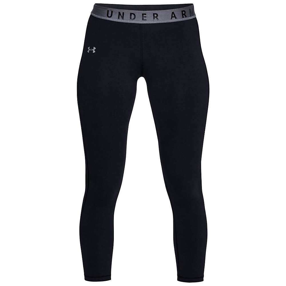 Under Armour Women's UA Favorite Crop Pant - Small - Black / Black / Graphite
