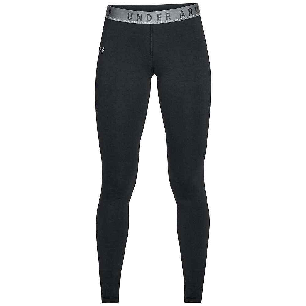 Under Armour Women's UA Favorite Legging - Medium - Black / Graphite / Graphite