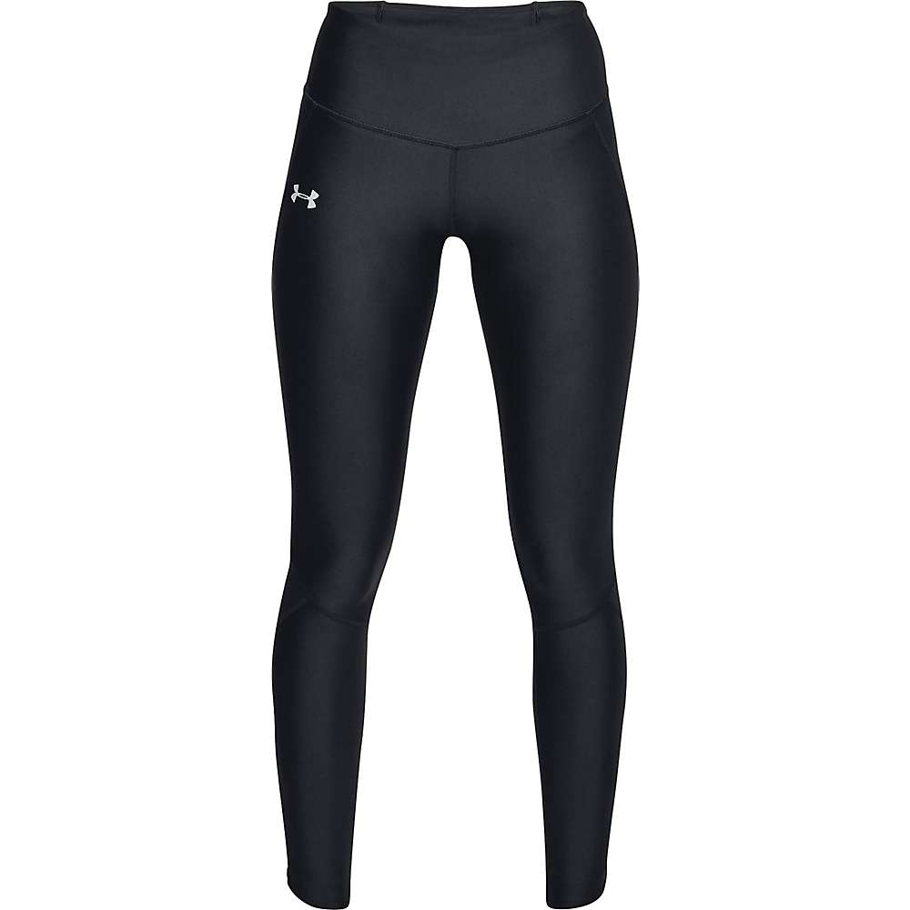Under Armour Women's UA Fly Fast Tight Pant - Small - Black / Black / Reflective