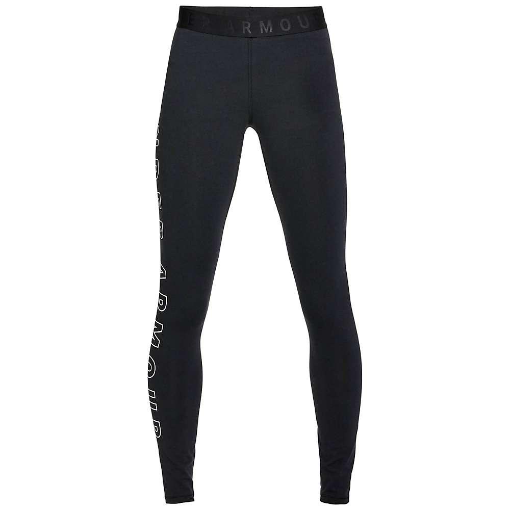 Under Armour Women's UA Favorite Graphic Legging - Small - Black / White