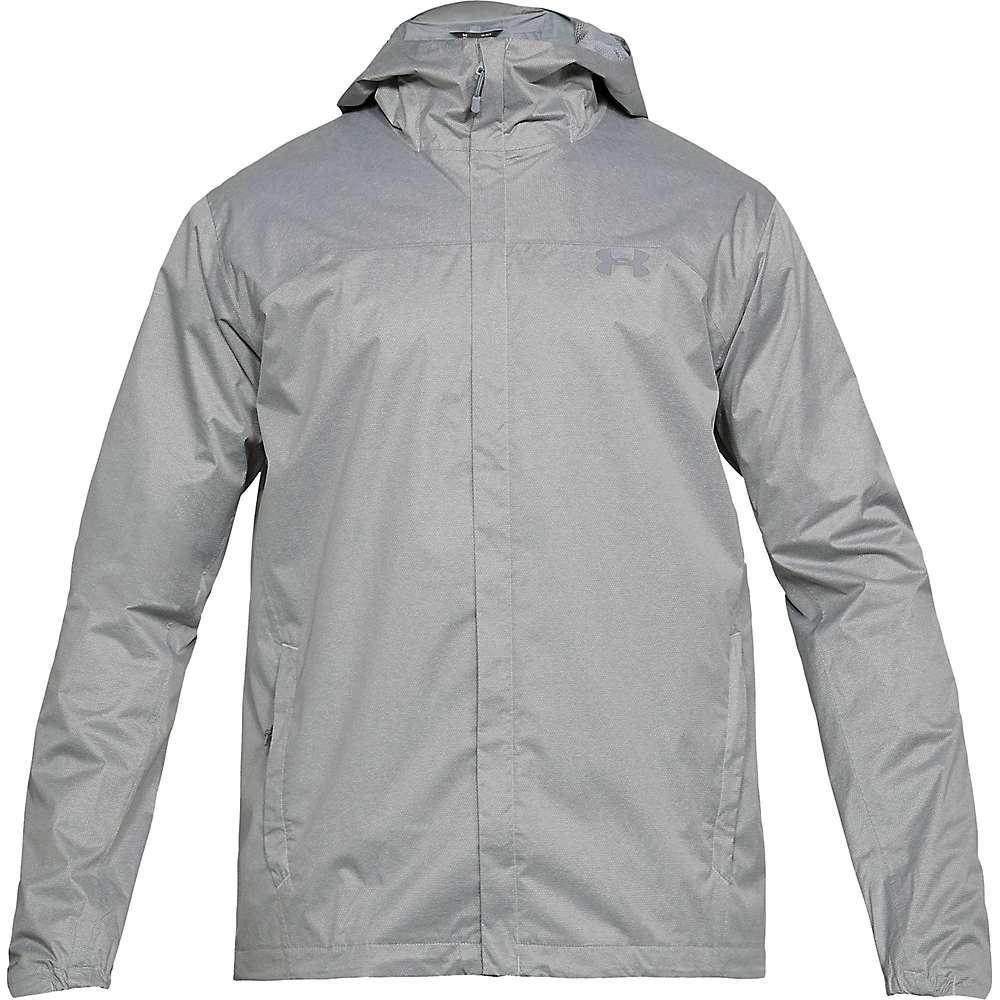 Under Armour Men's UA Overlook Jacket - XL - True Gray Heather / Overcast Gray / Overcast Gray