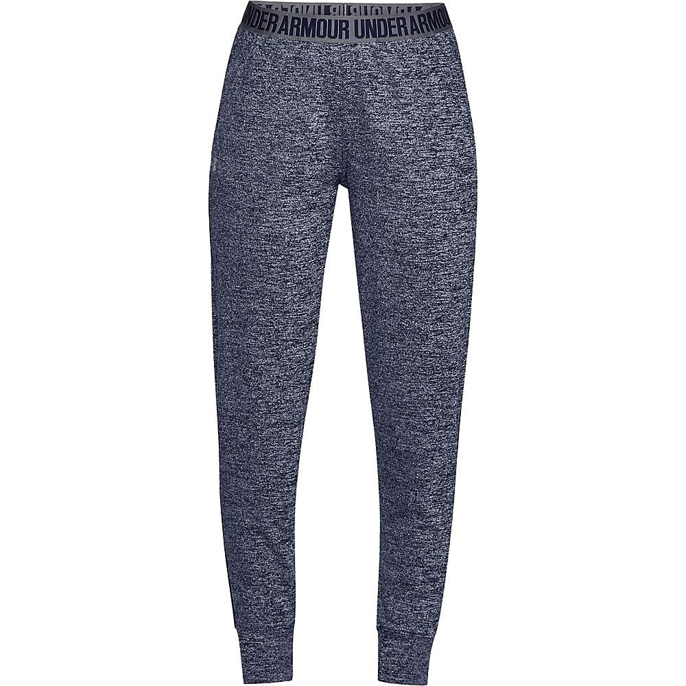 Under Armour Women's UA Play Up Tech Twist Pant - Large - Midnight Navy / Midnight Navy / Graphite