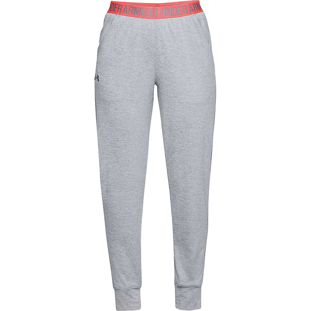Under Armour Women's UA Play Up Tech Twist Pant - Large - Steel / Brilliance / Metallic Silver