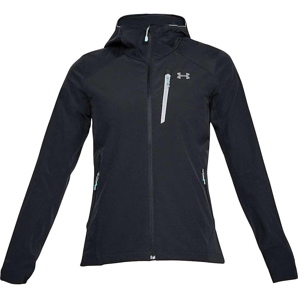 Under Armour Women's UA Propellant Jacket - Medium - Black / Black / Overcast Grey
