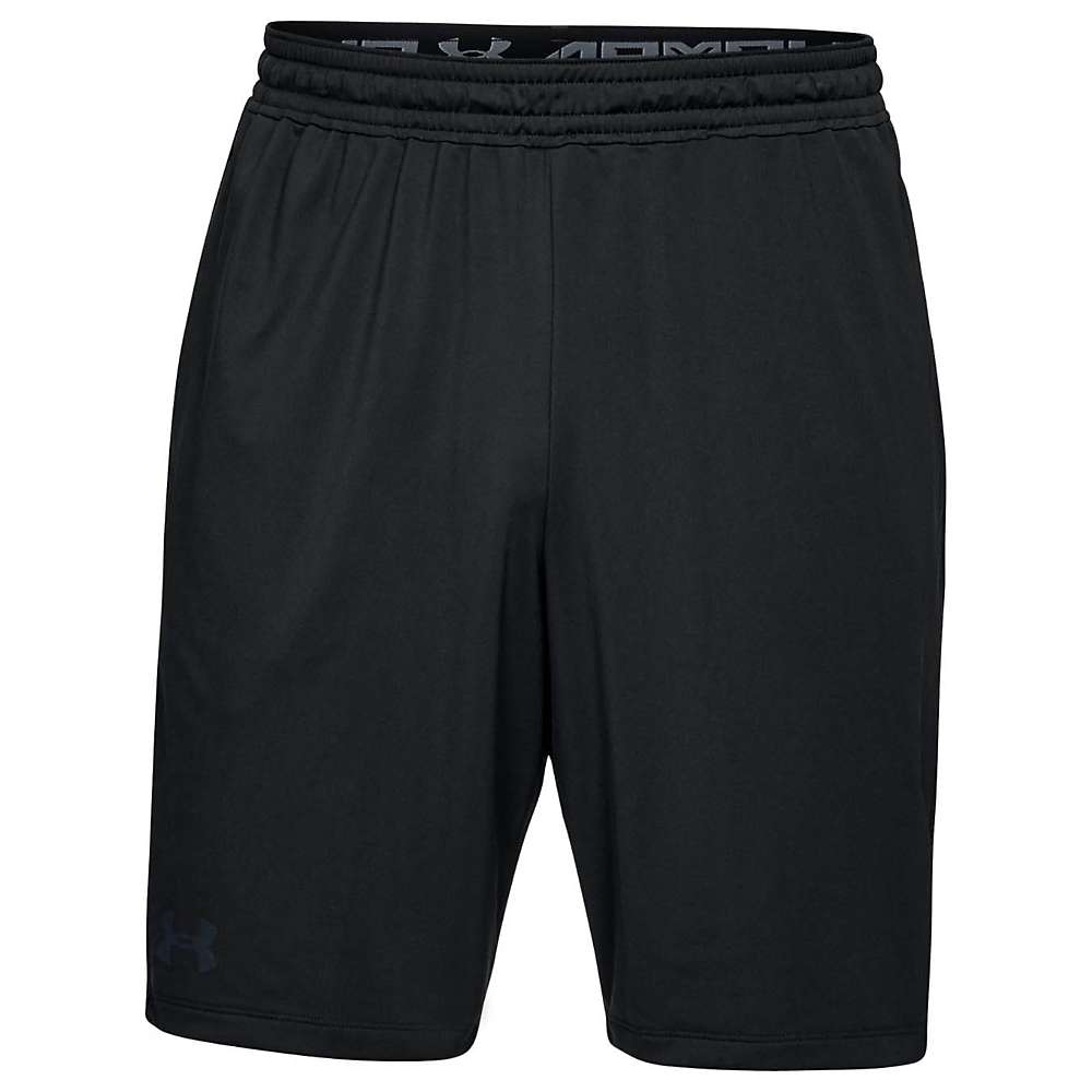 Under Armour Men's UA Raid 2.0 Short - XL - Black / Black / Stealth Grey