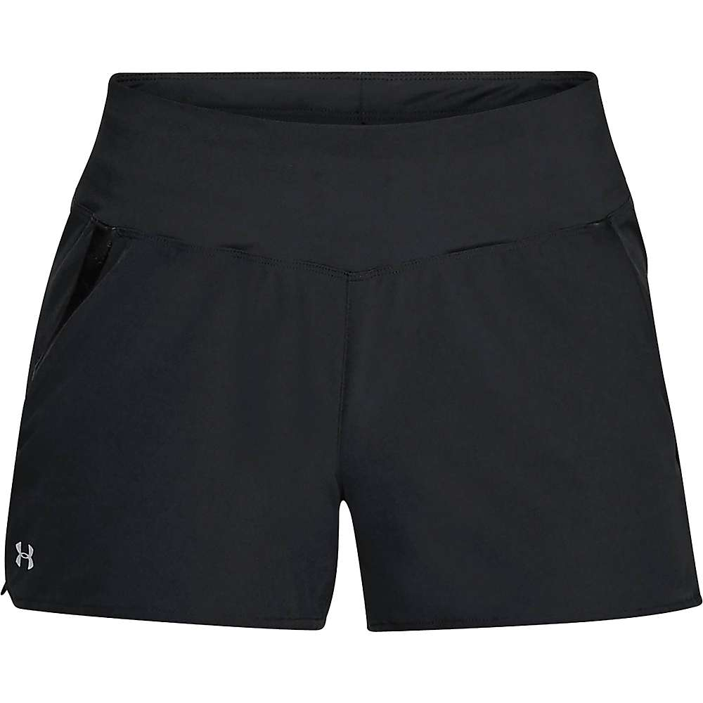 Under Armour Women's UA Ramble Short - Large - Black / Tropical Tide / Overcast Grey