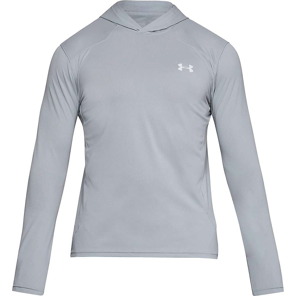 Under Armour Men's UA Sunblock Hoodie II - Small - Overcast Grey / Pierce / Elemental