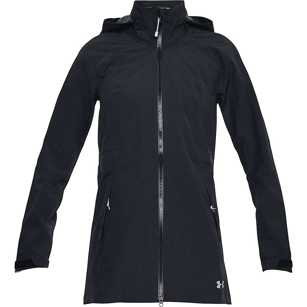 Under Armour Women's UA Trektic Parka - Small - Black / Overcast Grey