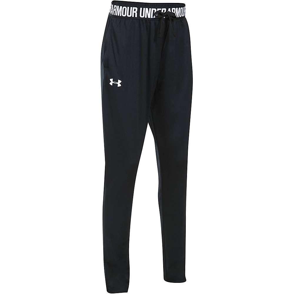 Under Armour Girls' UA Tech Jogger Pant - Small - Black / Black / White