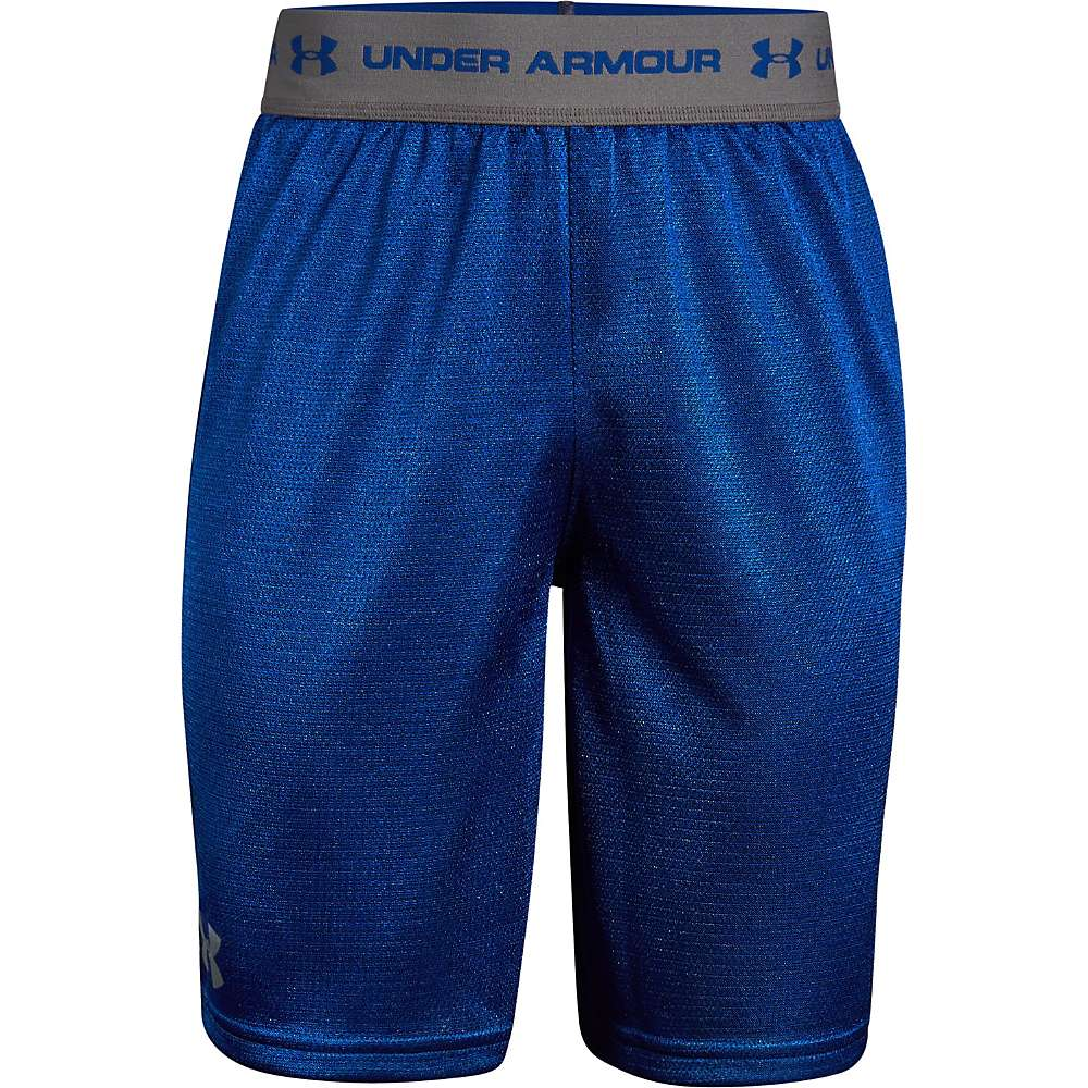 Under Armour Boys' UA Tech Prototype Short - XL - Royal / Graphite / Graphite