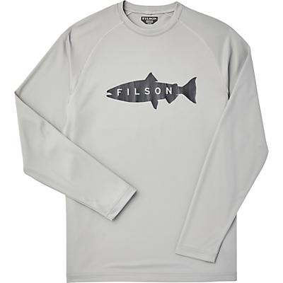 Filson Barrier LS T-Shirt - Storm Grey - Men