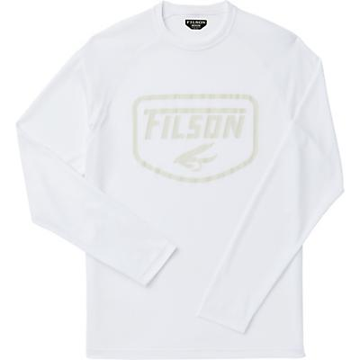 Filson Barrier LS T-Shirt - White S20 - Men