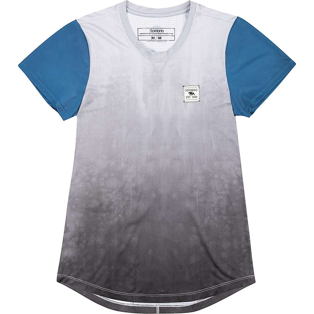 Sombrio Women's Valley Jersey - Large - Grey Tie Dye