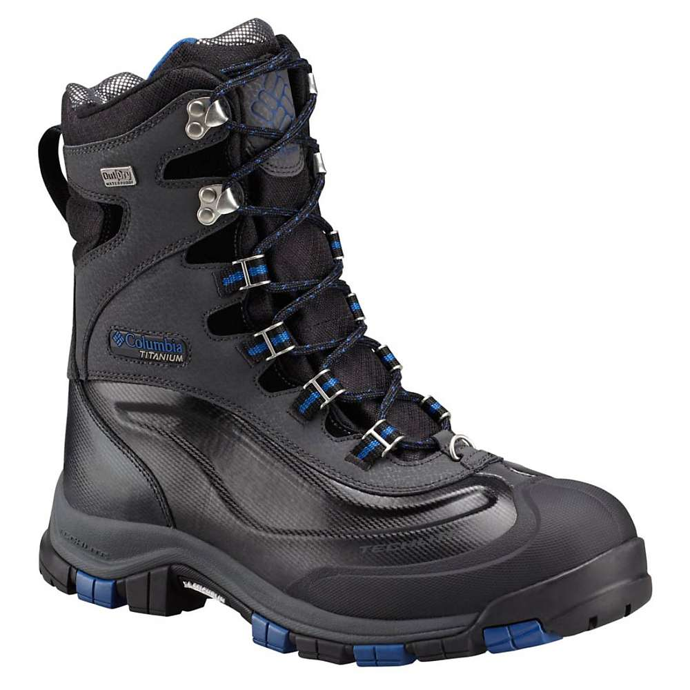 Columbia Men's Bugaboot Plus Titanium Omni-Heat Outdry Boot - 9 - Black / Flame