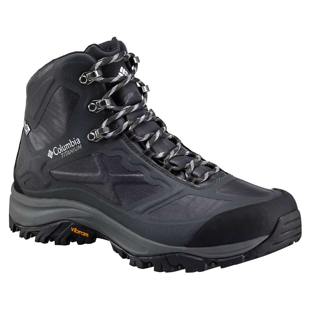 Columbia Men's Terrebonne Outdry Extreme Mid Boot - 9 - Black / White