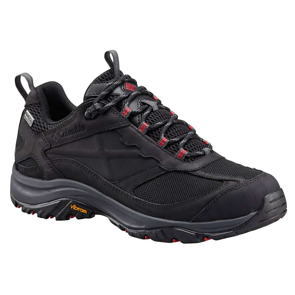 Columbia Men's Terrebonne Outdry Shoe - 9.5 - Black / Mountain Red