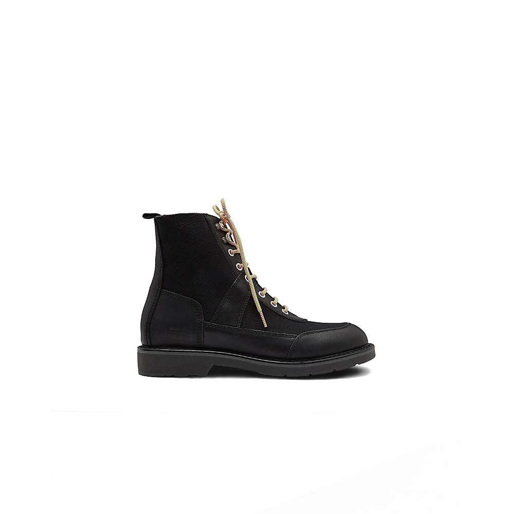 Hunter Men's Original Commando Canvas/Leather Boot – 11 – Black