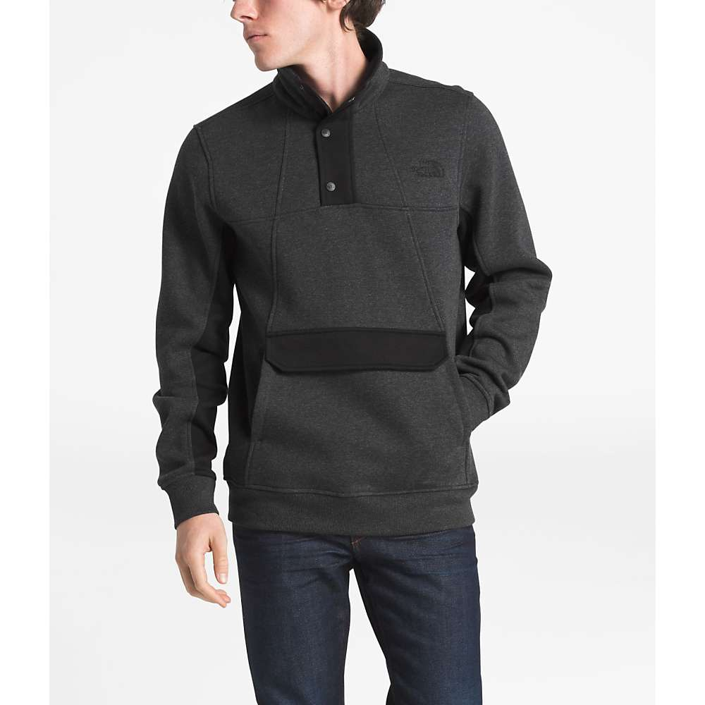 The North Face Men's Alphabet City Fleece Pullover Top - XXL - TNF Dark Grey Heather