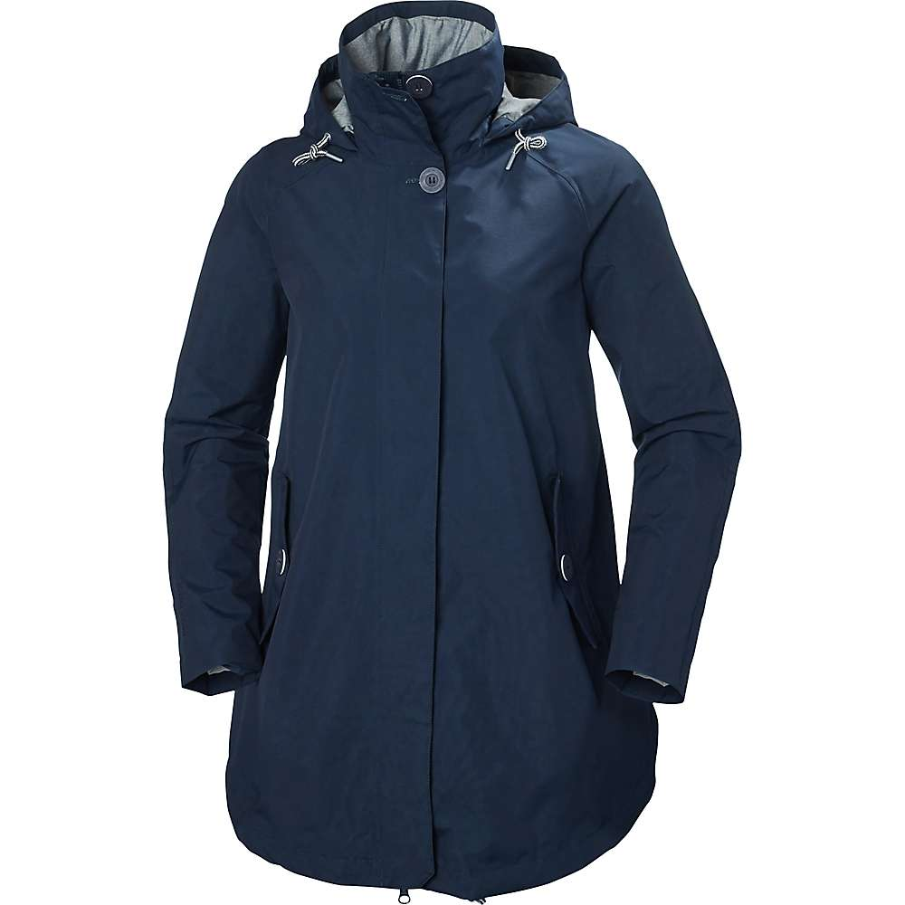 Helly Hansen Women's Elements Summer Coat - Large - Evening Blue