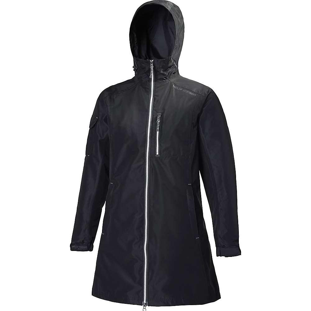 Helly Hansen Women's Long Belfast Jacket - Small - Black