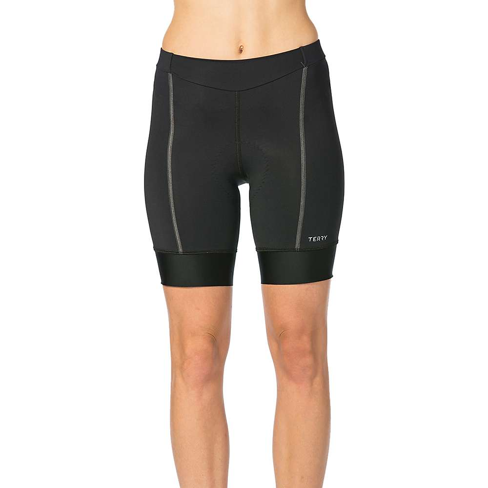 Terry Women's Bella Prima Short - XL - Black / Charcoal