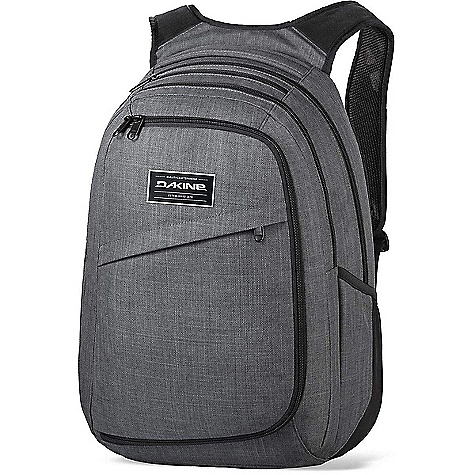 Dakine Network II 31L Carbon Dakine Network II 31L - Carbon - in stock now. FEATURES of the Dakine Network II 31L TSA compliant padded laptop sleeves Ergonomic foam backpanel and shoulder straps with breathable air mesh Fleece lined padded iPad sleeve Extra laptop, stylus pad or document sleeve Fleece lined sunglass pocket Multiple accessory pockets Quick stash side pockets Stowable waist belt Adjustable sternum strap