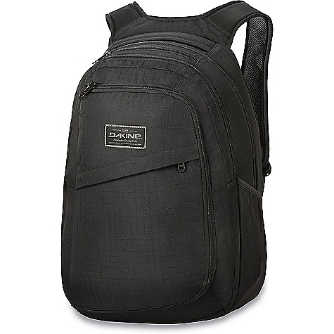 Dakine Network II 31L Black Dakine Network II 31L - Black - in stock now. FEATURES of the Dakine Network II 31L TSA compliant padded laptop sleeves Ergonomic foam backpanel and shoulder straps with breathable air mesh Fleece lined padded iPad sleeve Extra laptop, stylus pad or document sleeve Fleece lined sunglass pocket Multiple accessory pockets Quick stash side pockets Stowable waist belt Adjustable sternum strap