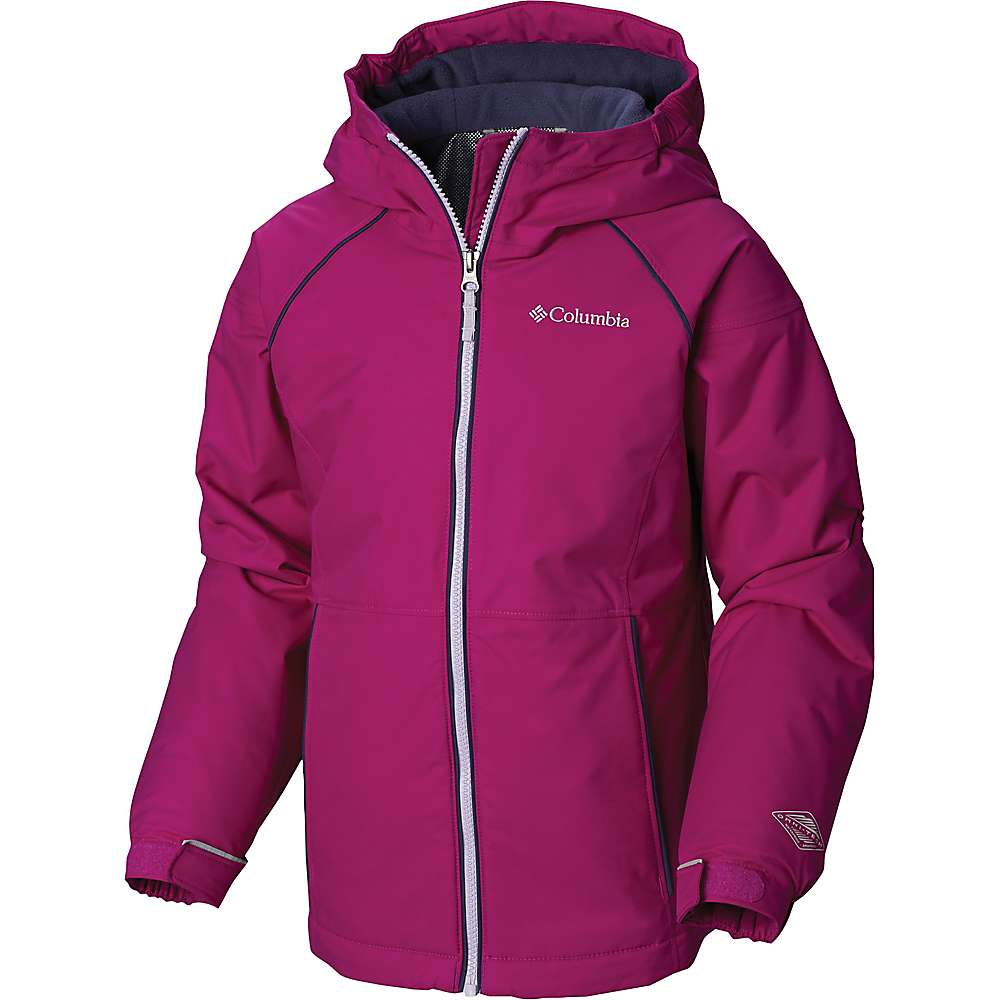 Columbia Youth Girls Alpine Action II Jacket - XL - Bright Plum