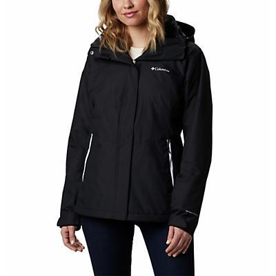Columbia Bugaboo II Fleece Interchange Jacket - Black / White / Black - Women
