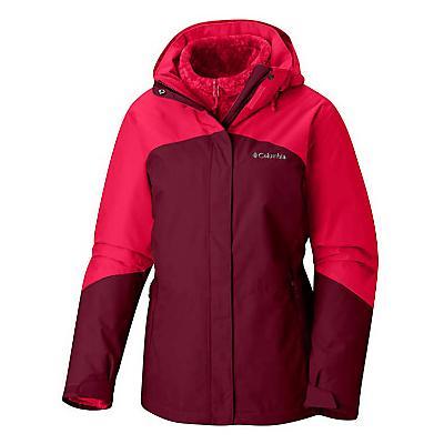 Columbia Bugaboo II Fleece Interchange Jacket - Rich Wine / Red Mercury - Women