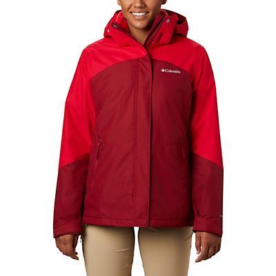 Columbia Bugaboo II Fleece Interchange Jacket - Beet / Red Lily / Red Lily - Women
