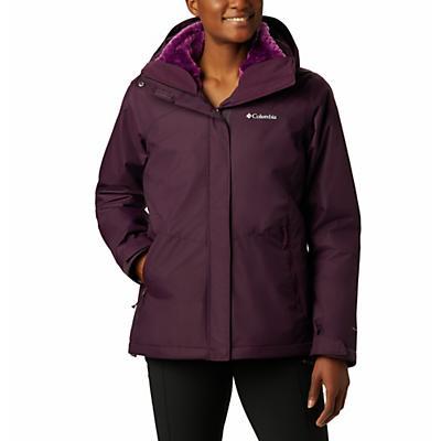 Columbia Bugaboo II Fleece Interchange Jacket - Black Cherry / Wild Iris - Women
