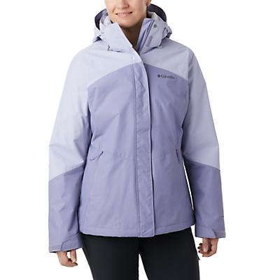 Columbia Bugaboo II Fleece Interchange Jacket - Dusty Iris / Twilight / Twilight - Women