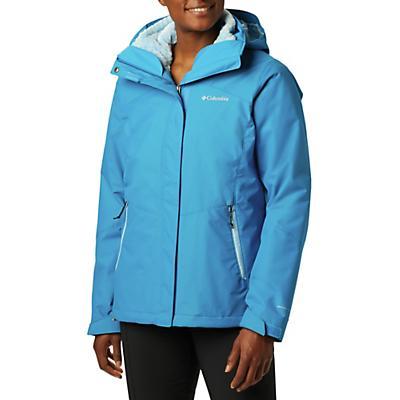 Columbia Bugaboo II Fleece Interchange Jacket - Fathom Blue / Crystal Blue / Fathom Blue - Women