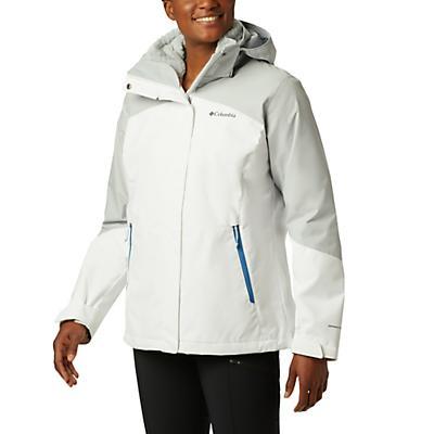 Columbia Bugaboo II Fleece Interchange Jacket - White / Cirrus Grey / Fathom Blue / Cirrus Grey - Women