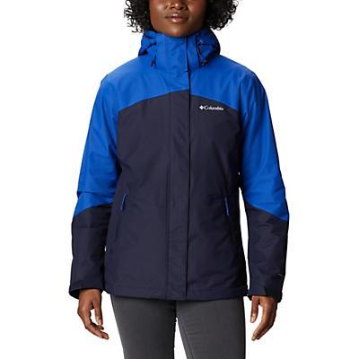 Columbia Bugaboo II Fleece Interchange Jacket - Dark Nocturnal / Lapis Blue - Women