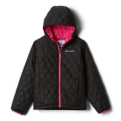 Columbia Youth Girls Bella Plush Jacket - Black/Pink Ice/Pink Ice
