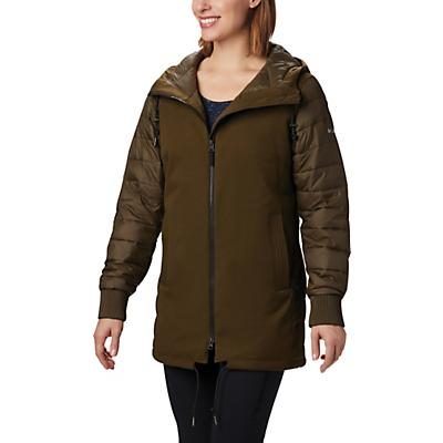Columbia Boundary Bay Hybrid Jacket - Olive Green - Women