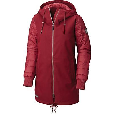 Columbia Boundary Bay Hybrid Jacket - Rich Wine - Women